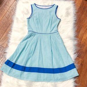 Jessica Simpson Seersucker Dress 6